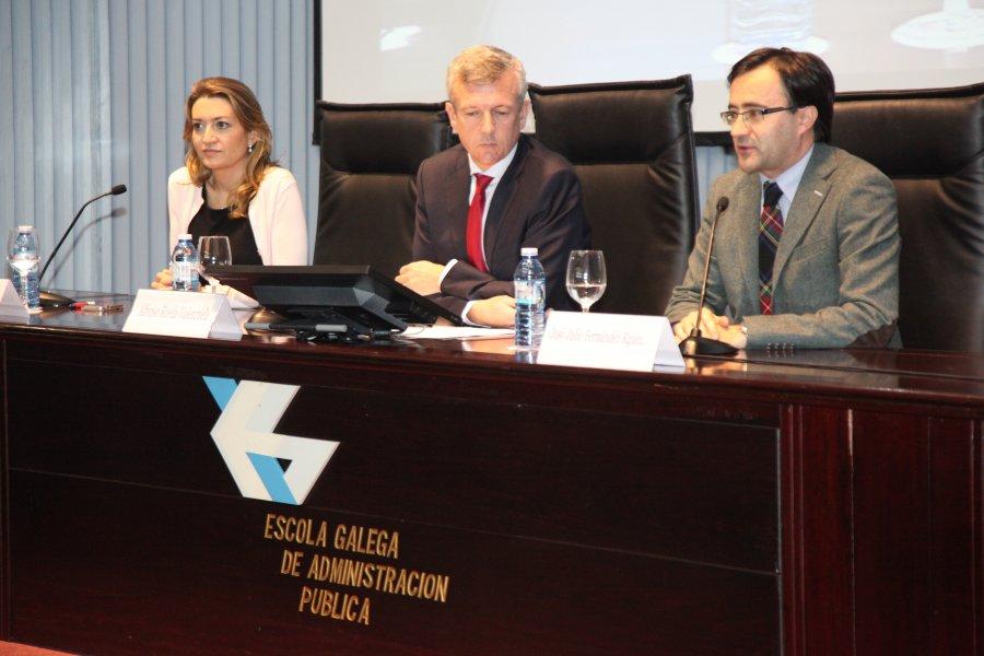 Clausura do curso monográfico sobre transparencia, goberno aberto e Administración pública